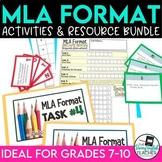 MLA Format Bundle: PowerPoint, Escape Room, Mini Flip Book
