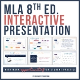MLA Format, Citation, and Works Cited Interactive Presentation