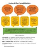 MLA Format Citations - Notes & Quiz