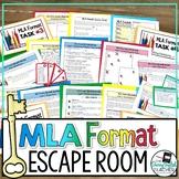 MLA Format Escape Room Activity