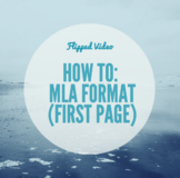 MLA Format (First Page) Step-by-Step Video for Students!