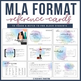 MLA Format Reference Cards  (8th Edition)