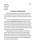 MLA Format Sample - Cranky Teacher