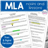 MLA Format and Parenthetical Citations | Lessons for Middle School