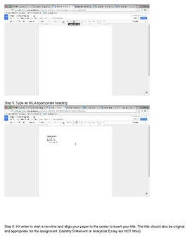 MLA Formatting Bundle