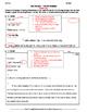 MLA Formatting Practice Sheet
