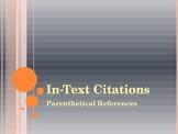 MLA In-Text Citations Presentation