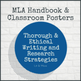 "MLA Handbook and ""Credible Hulk"" Posters"