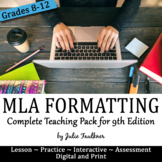 MLA In-Text & Works Cited 8th edition, Lesson, Complete Teaching Pack