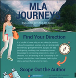 MLA Journey: Colorful Infographic for MLA Citation 8th Edition