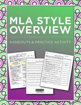 MLA Mini-Unit: Overview and Activities