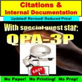 MLA Research, Internal Documentation, Citation PowerPoint