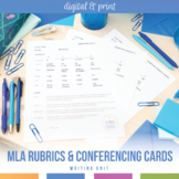 MLA Research Rubrics and Writing Cards