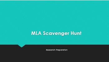 MLA Scavenger Hunt