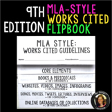 MLA Style 9th Edition Works Cited Flipbook