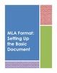 Teaching MLA Format: A Comprehensive Teaching Bundle of ML