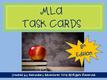 MLA Task Cards 8th Edition