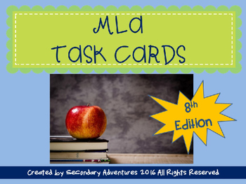 MLA Task Cards 8th Edition
