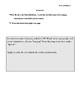MLA Template_Analysis Writing Lesson