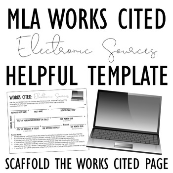 works cited mla page