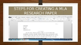 MLA report instructions + how to create .......