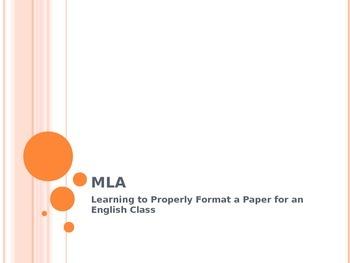 MLA/Plagiarism PowerPoint