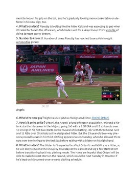 MLB American West 2018 | STAAR Reading