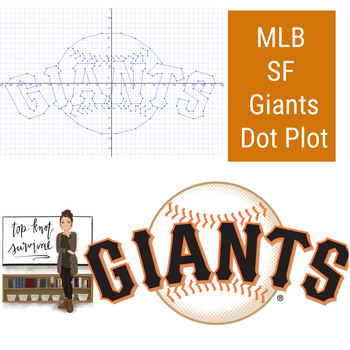 MLB Coordinate Graphing Picture - San Francisco Giants