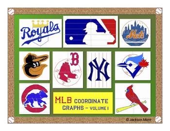 MLB Coordinate Graphs