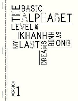 MLD - Basic Alphabet Worksheets - Level 1 - Letter Sized