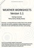 MLD - Basic Weather Worksheets - Part 1 – A4 Sized