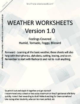 MLD - Basic Weather Worksheets - Part 3 – Letter Sized
