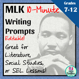 Elaboration Practice with Dr. Martin Luther King, Jr. Quotations