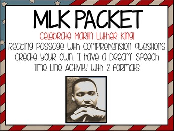 MLK - 3 Day Packet
