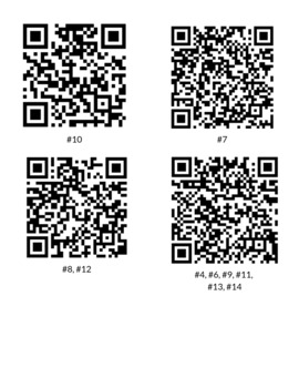 MLK BACKGROUND QR CODE SCAVENGER HUNT