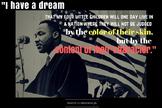 MLK Black History Month Poster