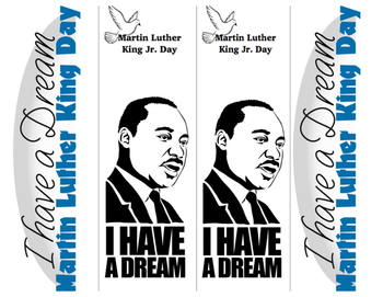 MLK Bookmark