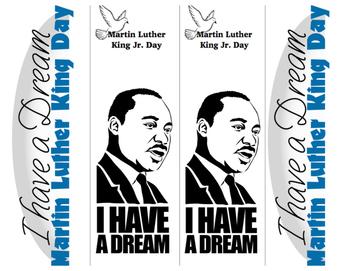MLK Bookmark