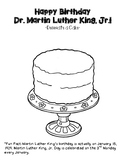 MLK Cake and Dream Writing