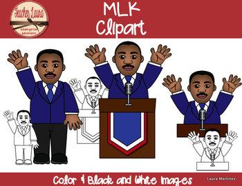 MLK Clipart