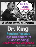 MLK Close Reading Passage: Informational Text