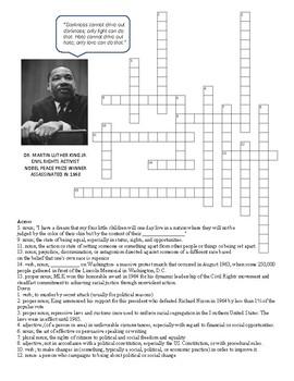 MLK Crossword