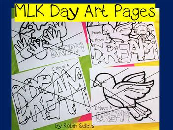 MLK Day Art Craft