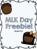 MLK Day Freebie!