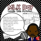 MLK Day Google Slide Activities