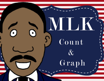Martin Luther King Jr.: Count and Graph (Black History Month)