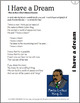 """MLK Day """"I Have A Dream"""" Song - Karaoke Version For Classroom and Choirs"""