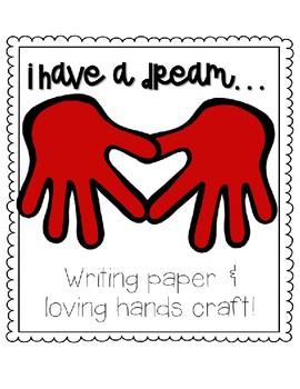 MLK Day Kindergarten Writing and Craft FREE