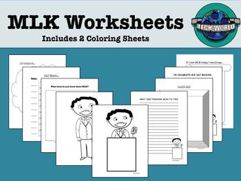 MLK Worksheets