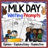 MLK Day Writing Prompts {Narrative Writing, Informative &